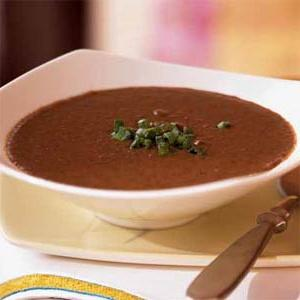 zuppa di purea di fagioli