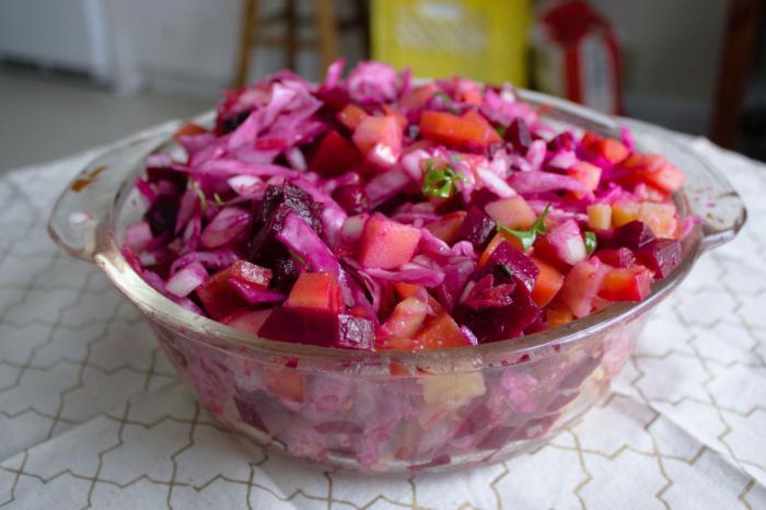 fižolna solata z receptom