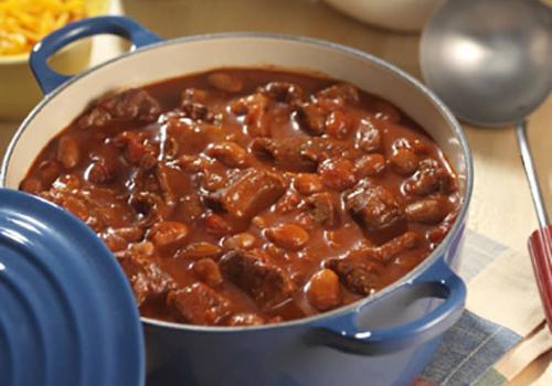 ricetta fagioli con carne