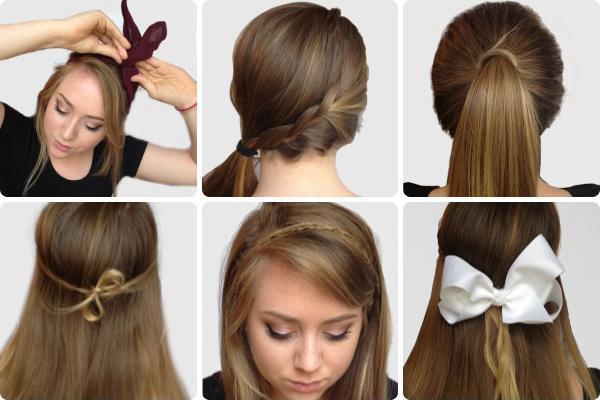 svjetlo frizura za dugu kosu to učiniti sami