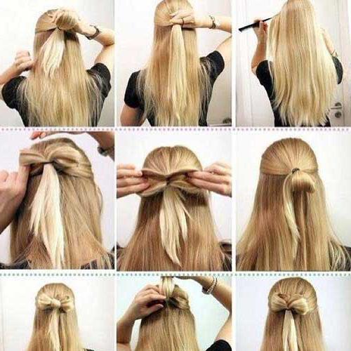 svjetlo frizura za dugu kosu fotografiju