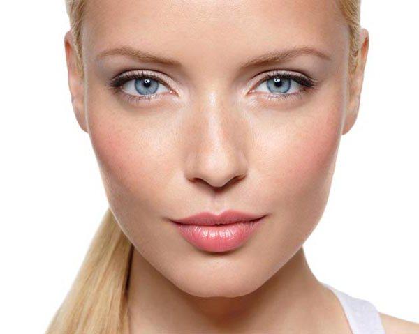 krásný světlý make-up
