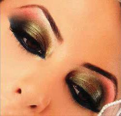ličila za temno rjave oči