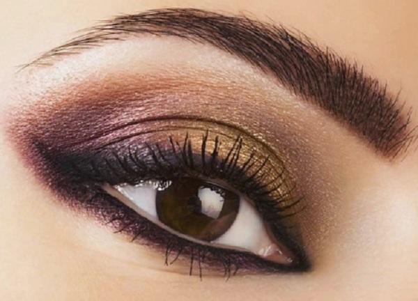 шминка за смеђе очи