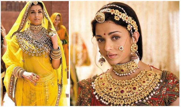 biżuteria indyjska srebrna