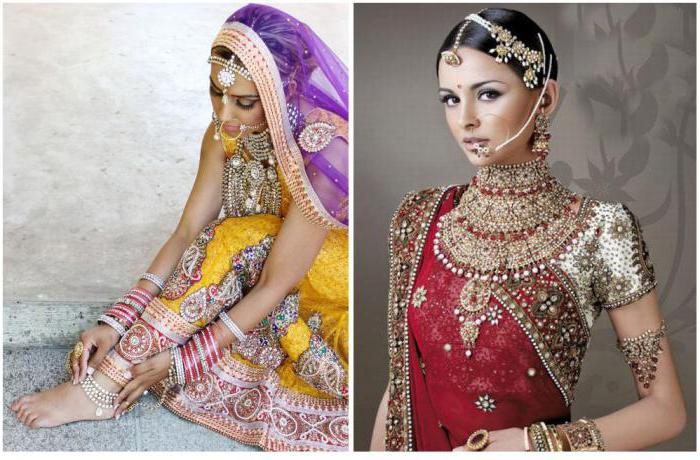 zdjęcie biżuterii indyjskiej