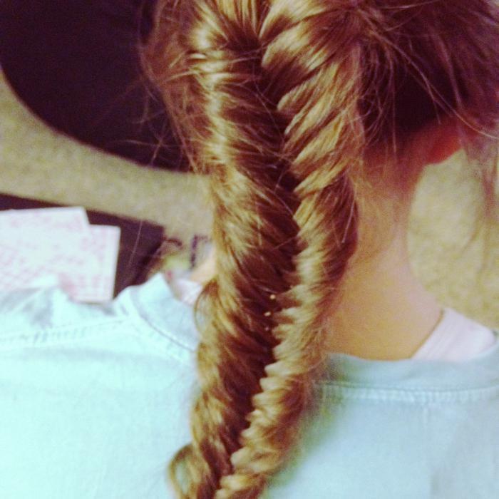 Trecce di capelli lunghi