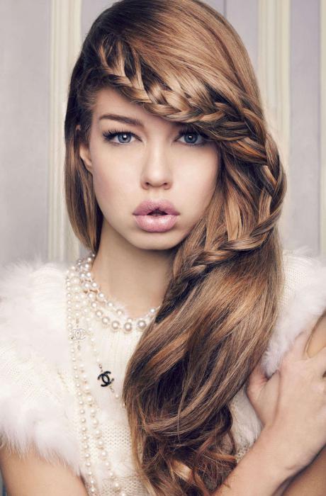 trecce leggere per capelli lunghi