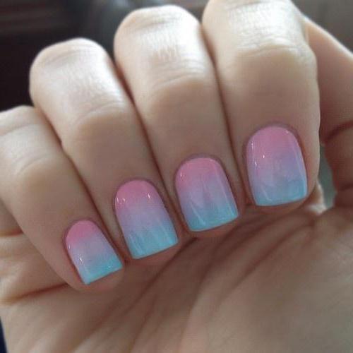 ljetna manikura za kratke nokte