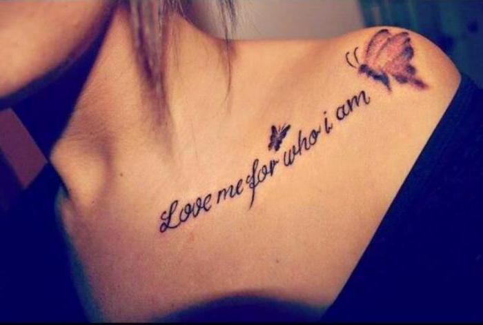 кана тетоважа на рамену за дјевојке