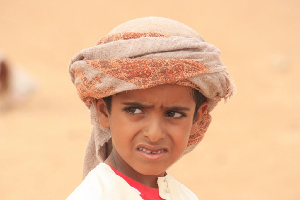 Ragazzo beduino