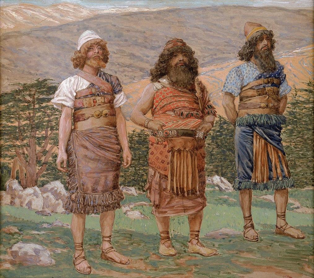 Sim, Ham e Japheth