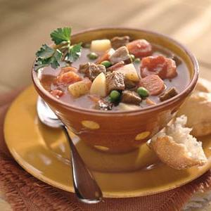 zuppa di manzo con patate
