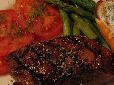 как да се скара на пържола от говеждо месо