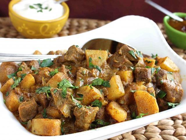 manzo con patate al forno