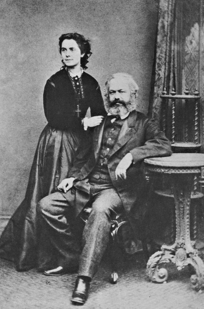 Karl Marx e sua moglie