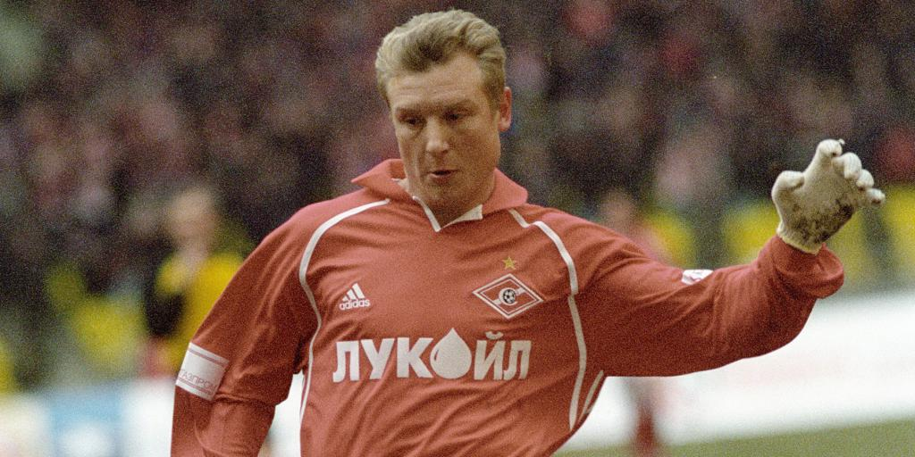 Vladimir Beschastnykh u Spartaku
