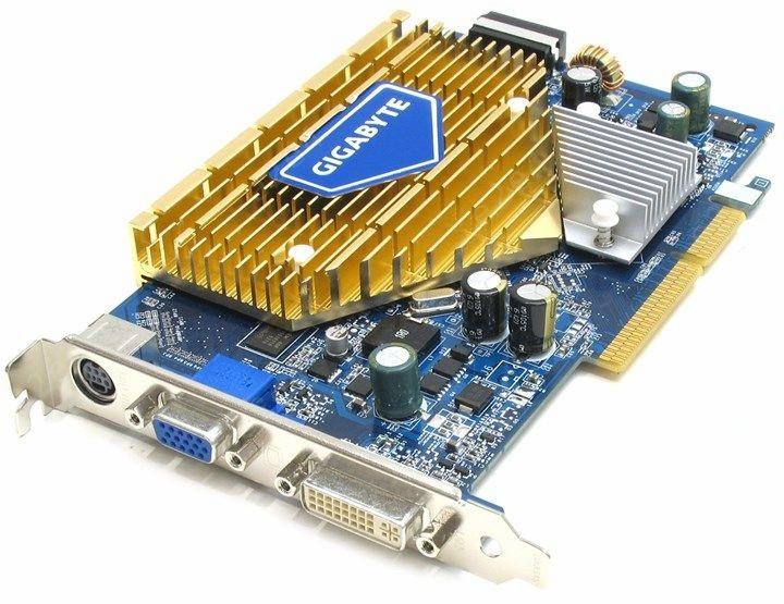 GIGABYTE GeForce 7600 GS 400Mhz AGP 256Mb 800Mhz 128-bitowy telewizor DVI YPrPb