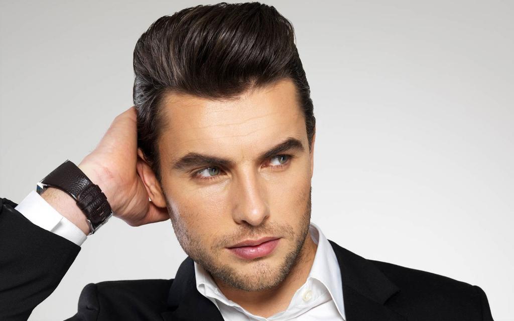 gelificante per capelli con maschio