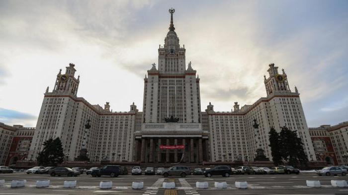 moskovskih univerz