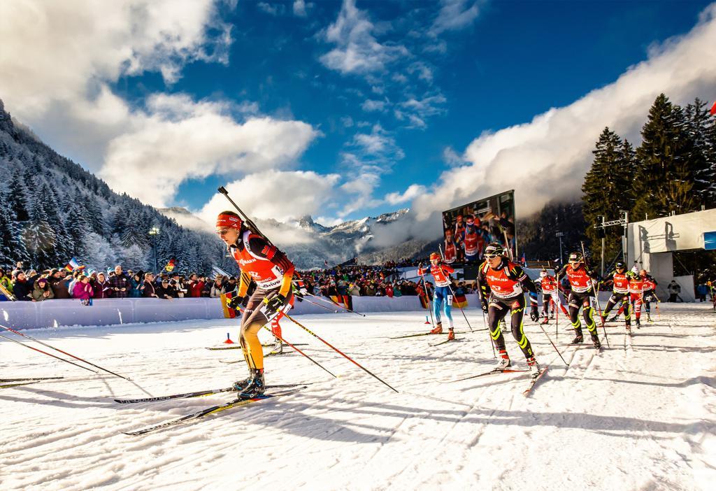 Biathlon alle Olimpiadi