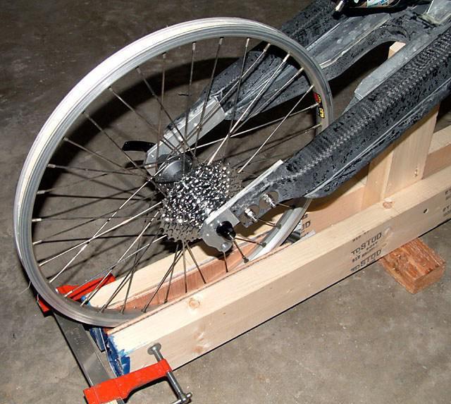 поправка оквира бицикла