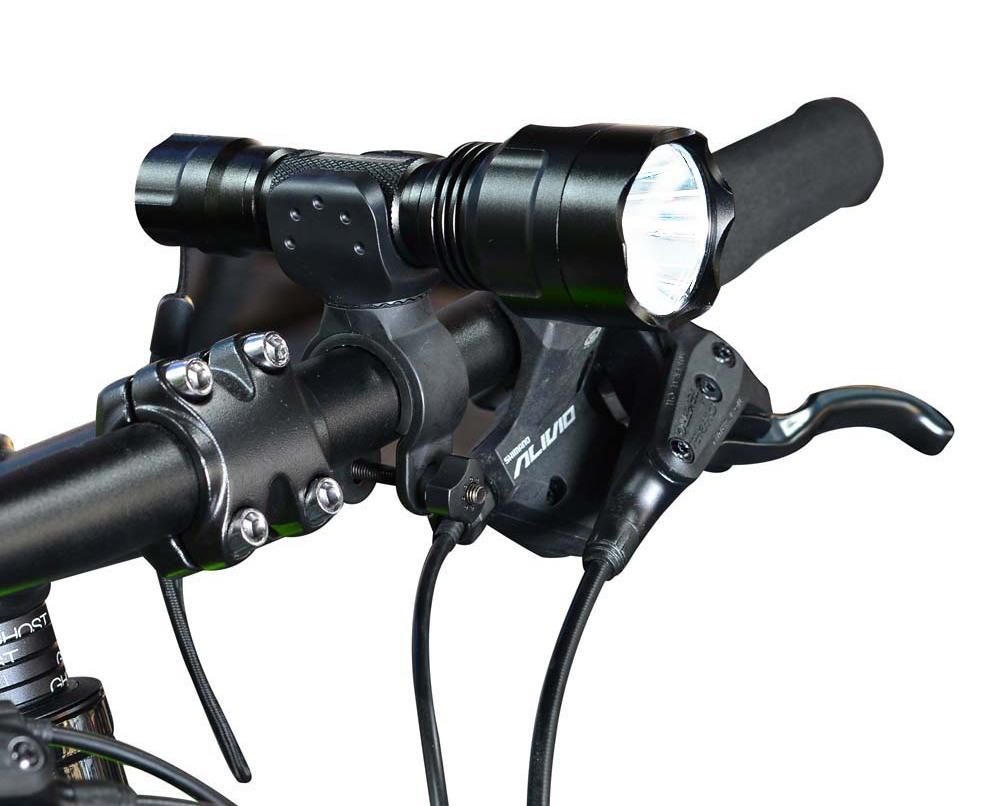 Велосипеден фенер на волана