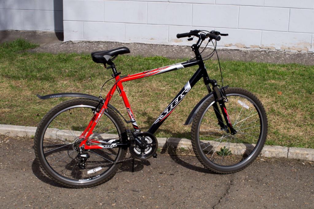 kolesa stels navigator 630 rdeča