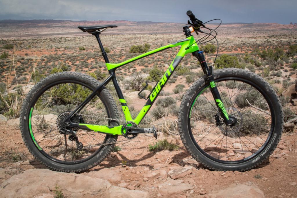 bici hardtail gigante