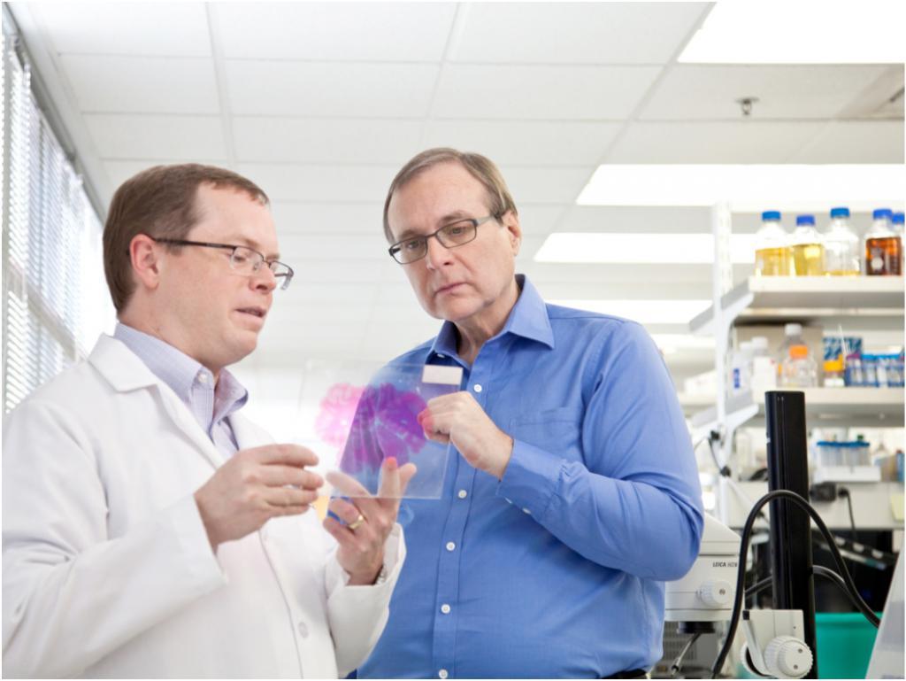 Paul Allen u Institutu za mozak