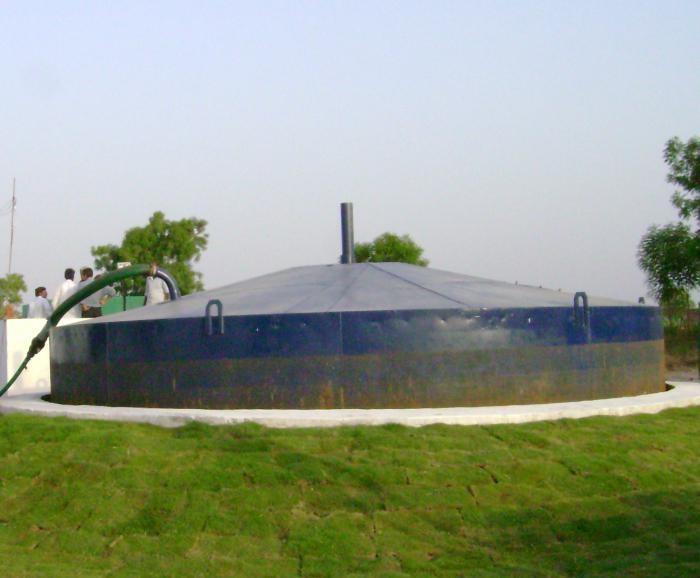 impianto di biogas casalingo per la lettiera di quaglia