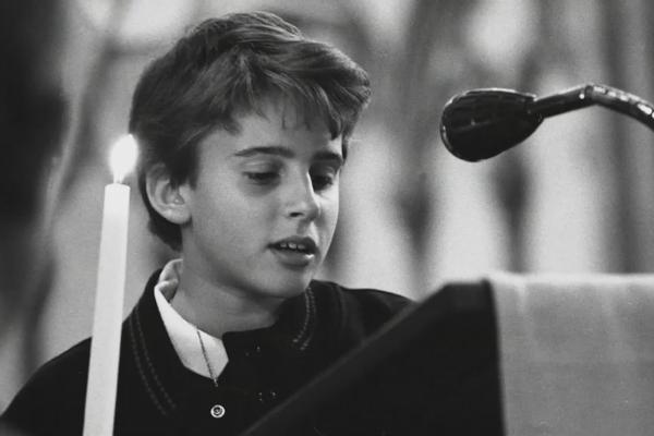 Macron durante l'infanzia