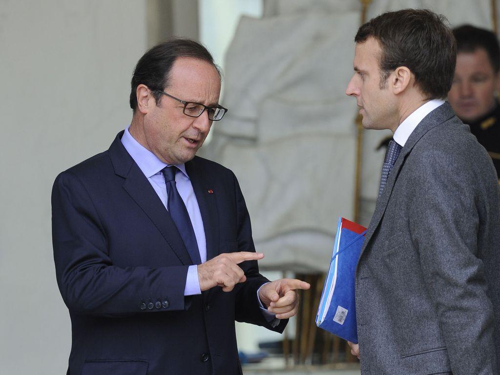 Macron e Hollande