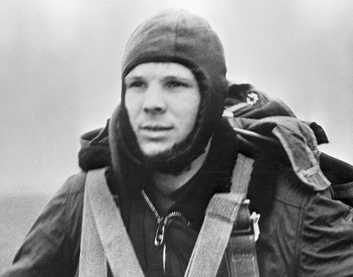 Biografia di Gagarin per bambini