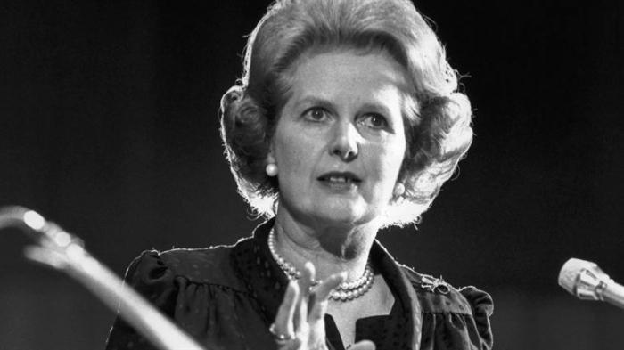 Margaret Thatcher fotografija