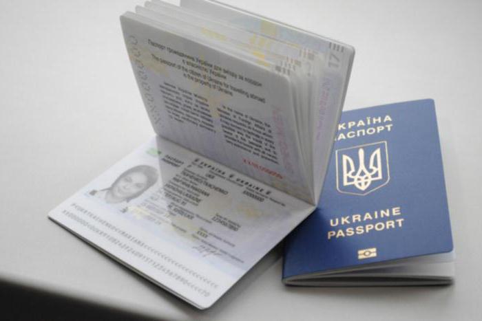 nuovo passaporto dell'Ucraina