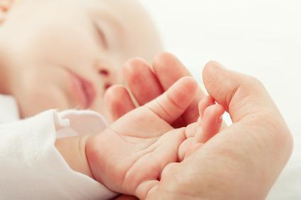 certificato di nascita del bambino