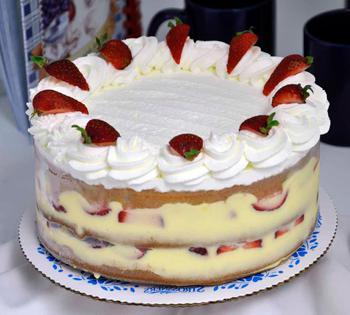 Riempimento torta