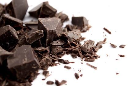 caloria di cioccolato fondente