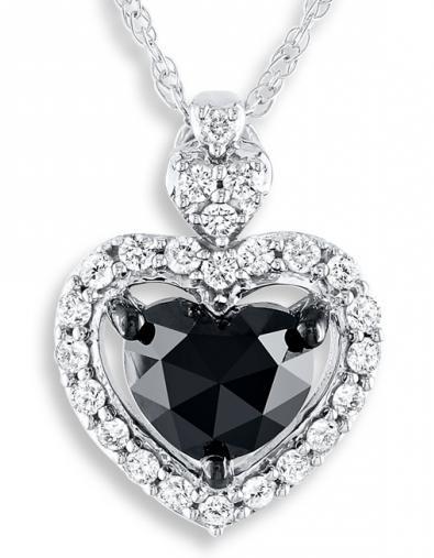 črni diamantni prstan