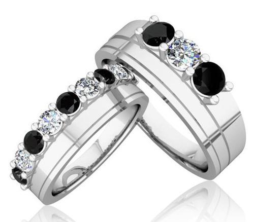 črni in beli diamanti