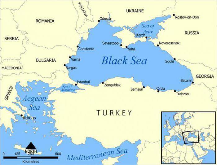 Profondità del Mar d'Azov