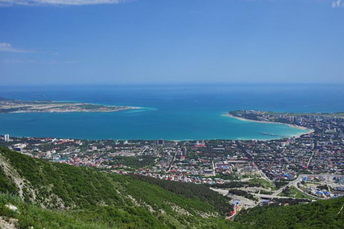 wybrzeże Morza Czarnego w regionie Krasnodar