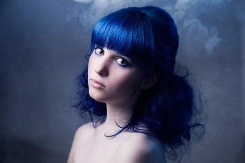 tinture per capelli blu