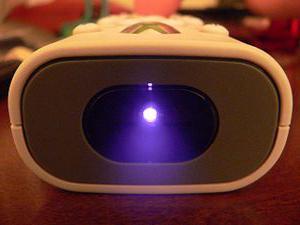 applicazione della lampada blu