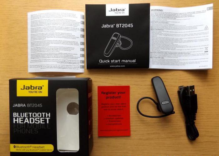 Bluetooth slušalka za telefon jabra bt2045