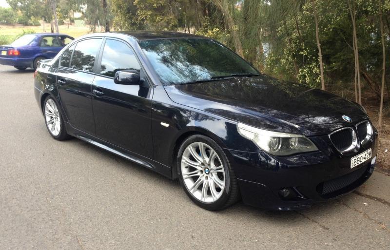 BMW E60 nero