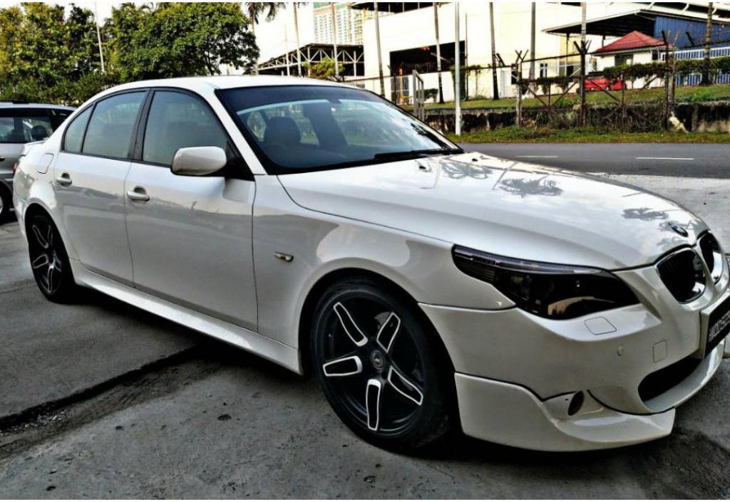 BMW E60 bianco