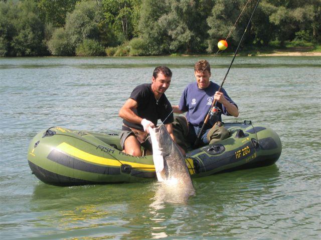 cacciatore di barche in pvc 320