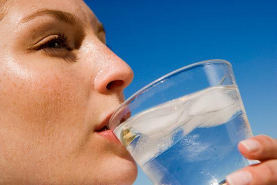 przegotowane obrażenia od wody